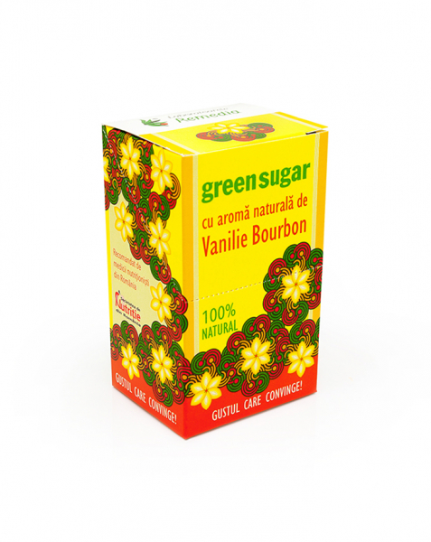 Green Sugar Vanilie Bourbon 10 plicuri [0]