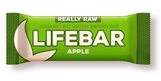 Lifebar baton cu mere raw eco 47g [0]