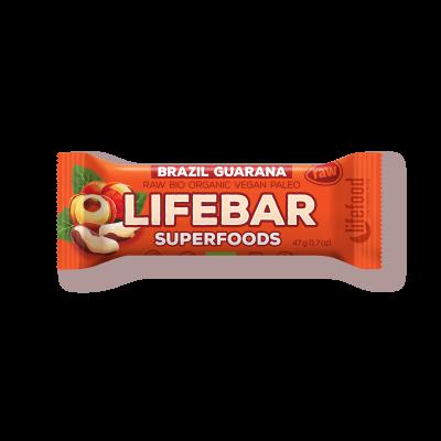 Lifebar plus baton cu guarana si nuci braziliene eco 47g [0]