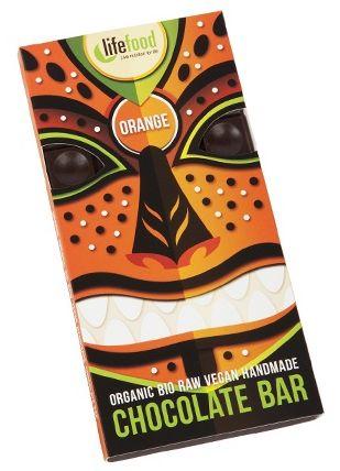 Lifefood ciocolata cu portocale raw eco 70g [0]