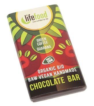 Lifefood MINI ciocolata cu guarana si cafea verde raw eco 15g [0]