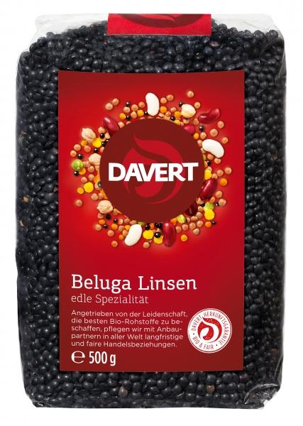 Linte neagra Beluga bio 500g DAVERT [0]