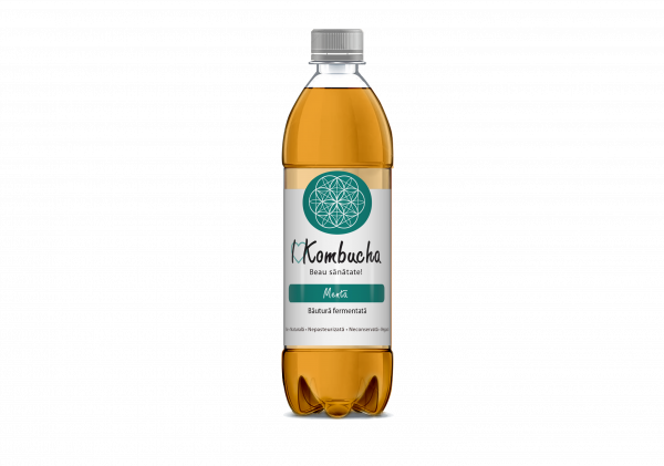 I Kombucha cu mentă 500/ 1000 ml [0]