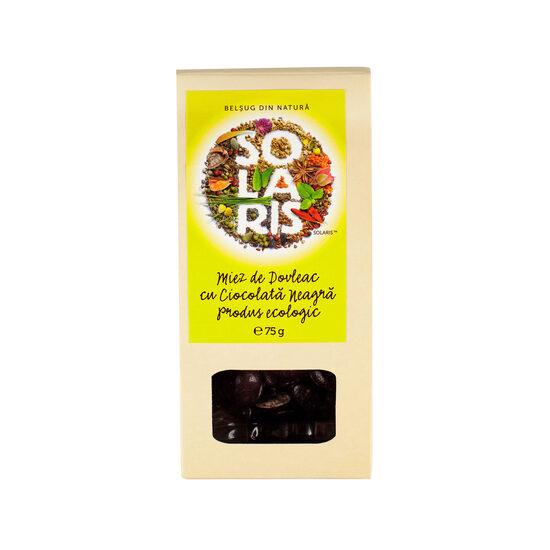 Miez de dovleac cu ciocolată neagră bio 75 gr [0]