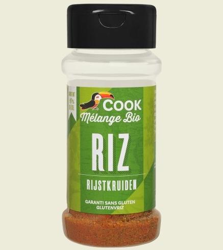 Mix de condimente pentru orez bio 27g Cook [0]