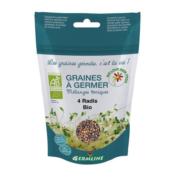 Mix din 4 ridichi pentru germinat eco 100g [0]