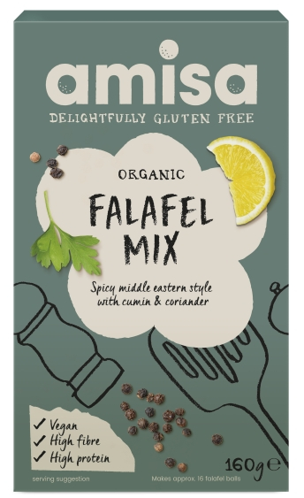 Mix pentru falafel fara gluten eco 160g AMISA [0]