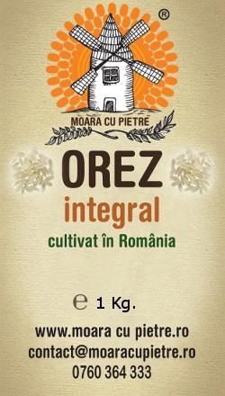 Orez integral cultivat in România [0]