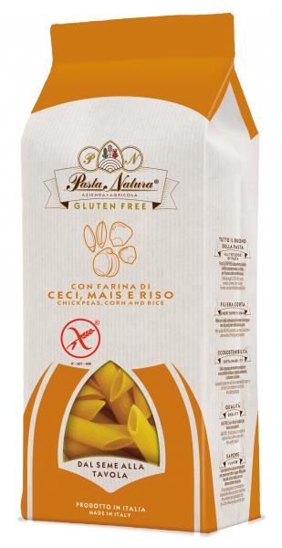 Paste maccheroni cu naut bio, fara gluten 250g Pasta Natura [0]