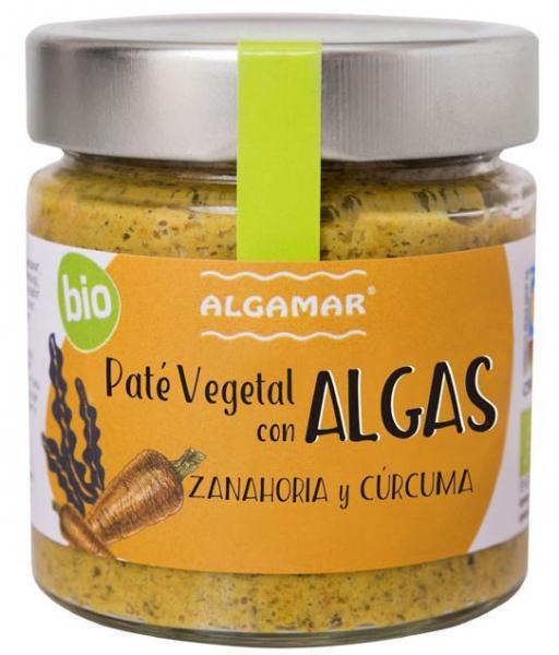 Pate vegetal cu alge, morcovi si turmeric eco 180g [0]