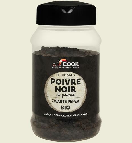 Piper negru boabe bio 200g Cook [0]