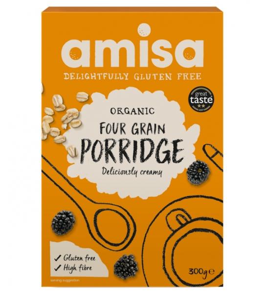 Porridge din 4 cereale fara gluten bio 300g [0]