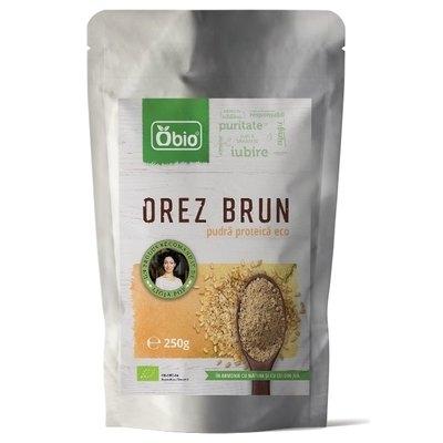 Proteina din orez premium eco 250g Obio [0]