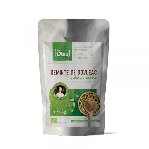 Pudra proteica din seminte de dovleac eco 125g OBIO [0]