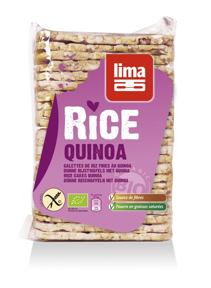 Rondele de orez expandat cu quinoa eco 130g [0]