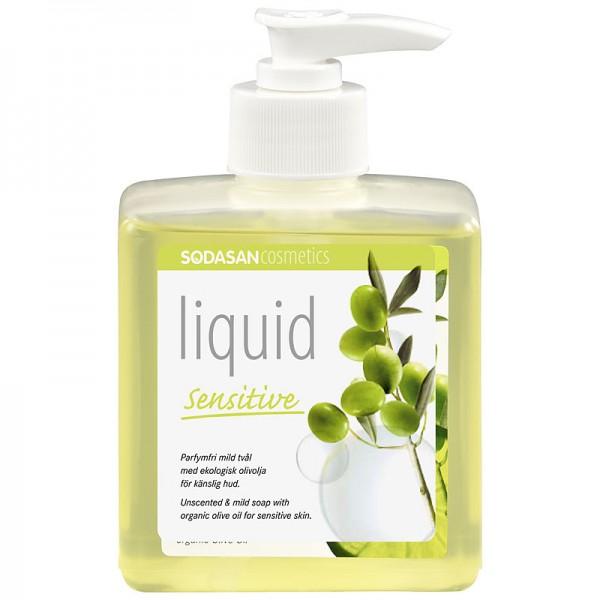 Sapun lichid - gel de dus bio sensitiv 300ml Sodasan [0]