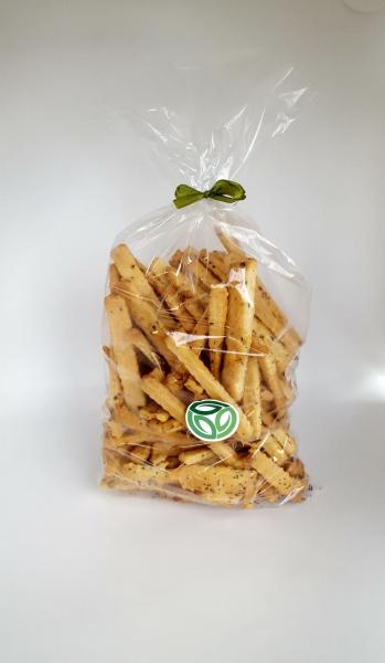 Sărățele de răsfăț cu mac și brânză 200/500 gr [0]