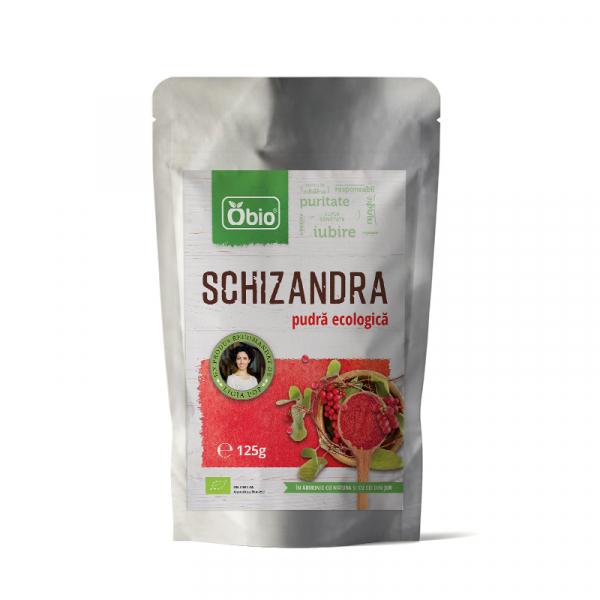 Schizandra pulbere raw eco 125g [0]