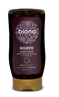 Sirop de agave dark eco 250ml Biona [0]