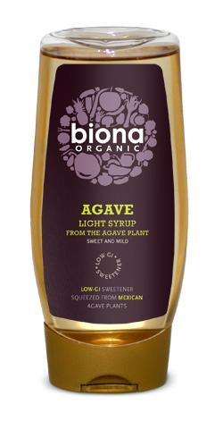 Sirop de agave light eco 500ml Biona [0]