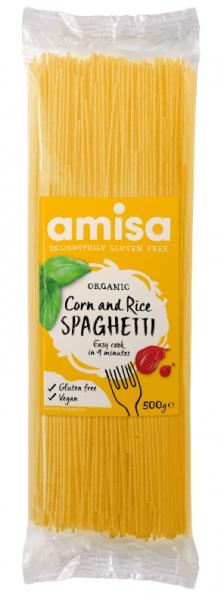 Spaghetti din orez si porumb fara gluten eco 500g [0]