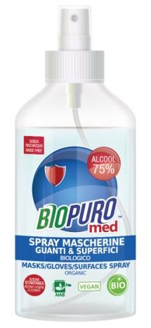 Spray igienizant pentru masca, manusi si suprafete bio 250ml Biopuro [0]