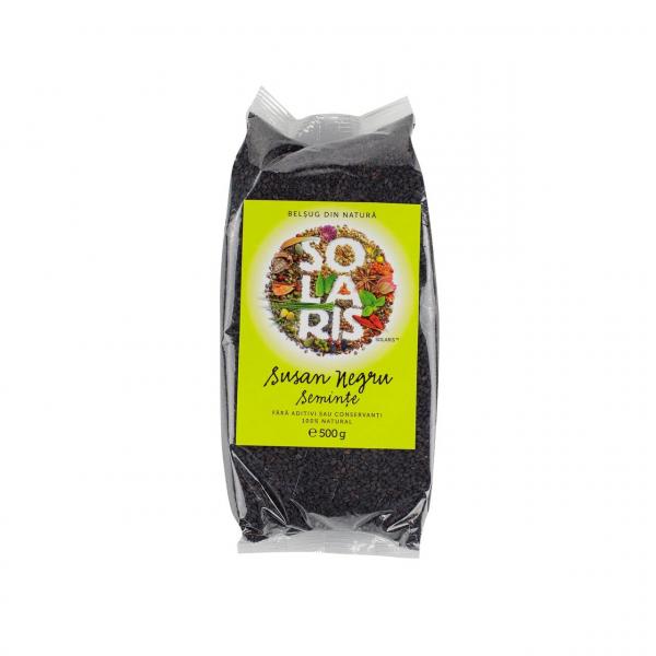 Semințe de susan negru 150 gr Solaris [0]