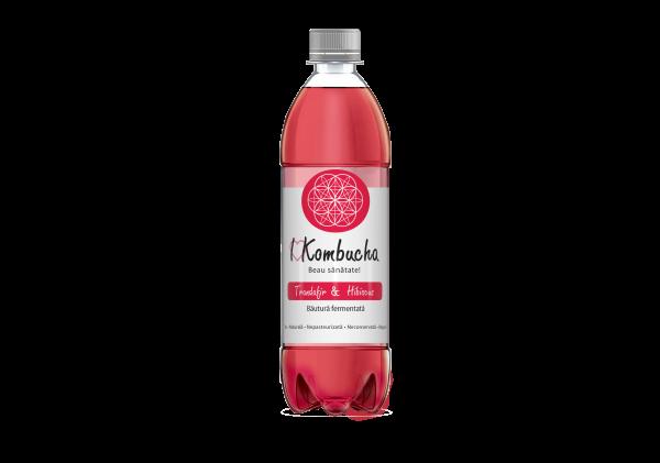 I Kombucha cu trandafir si hibiscus 500/ 1000 ml [0]