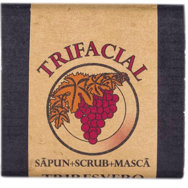 Trifacial cu resveratrol ( săpun+scrub+mască), TRIRESVERO [0]
