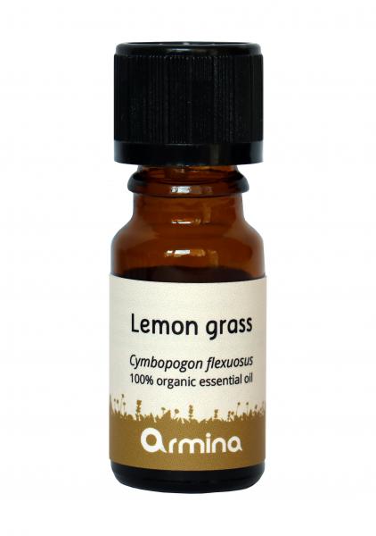 ULEI ESENTIAL DE LEMON GRASS (CYMBOPOGON FLEXUOSUS) BIO 10ML ARMINA [0]
