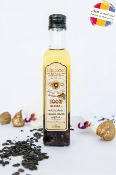 Ulei de floarea-soarelui cu aromă de hribi [0]