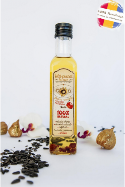 Ulei de floarea-soarelui infuzat cu ardei iute habanero [0]