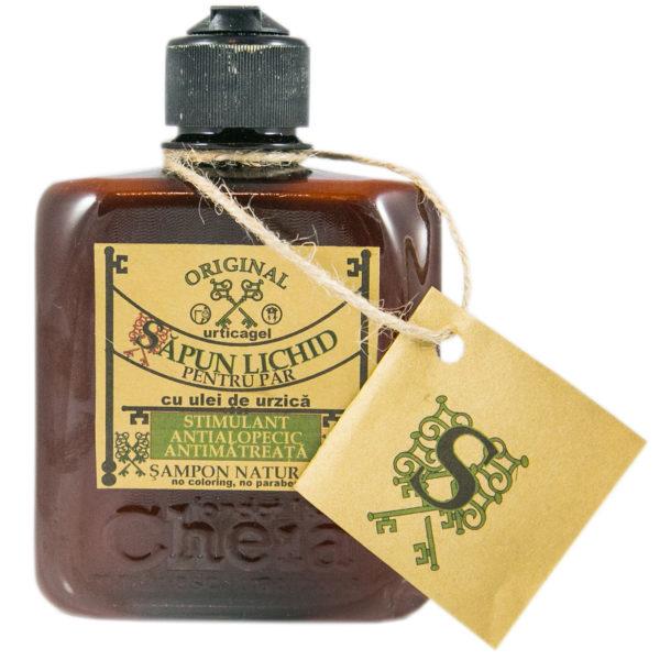 Urticagel săpun lichid pentru păr cu ulei de urzică (șampon natural ) [0]