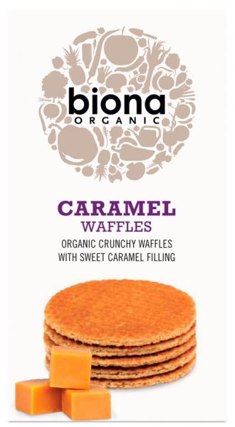 Vafe cu caramel bio 175g Biona [0]