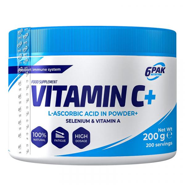 Vitamină C Plus pudră 200 gr 6Pak [0]
