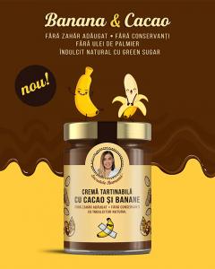 Cremă tartinabilă cu cacao și banane 350 gr [1]