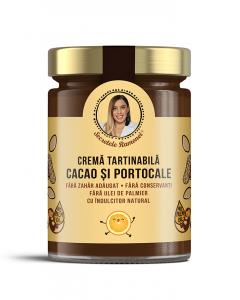 Cremă tartinabilă cu cacao și portocale 350 gr [0]