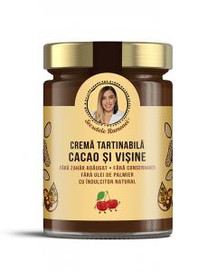 Cremă tartinabilă cu cacao și vișine 350 gr [0]