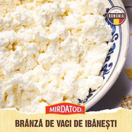 Brânză proaspătă de vaci grasă 500 gr [0]