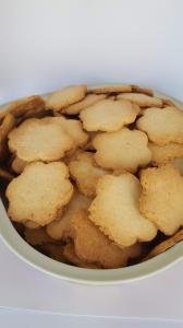 Fursecuri fără zahăr cu unt și cocos 150 gr [1]