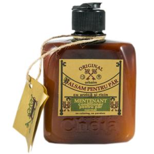 Urbalm balsam pentru păr normal cu ulei de urzică şi ricin [0]