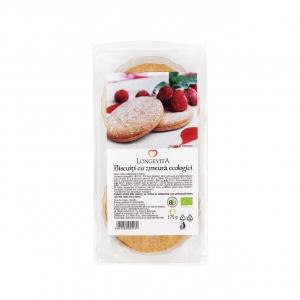 Biscuiți cu cremă de zmeură eco 175 gr - Longevita [0]