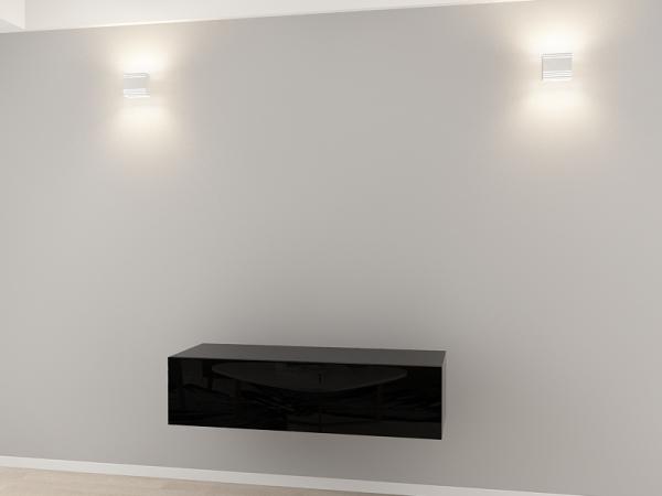 Comoda TV 120 Negru 0