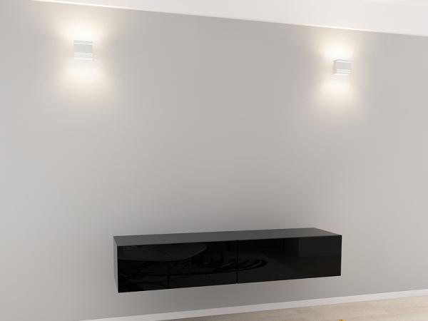 Comoda TV 160 Negru 1