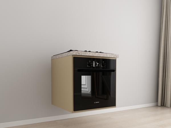 Corp inferior 60 Adancime 57 pentru cuptor incorporabil - Evora Cappuccino [0]