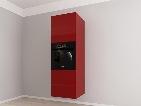 Corp vertical 187 Adancime 57 pentru cuptor incorporabil si 2 usi - Evora Bordo 1