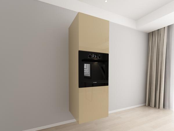 Corp vertical 187 Adancime 57 pentru cuptor incorporabil si 2 usi - Evora Cappuccino 0