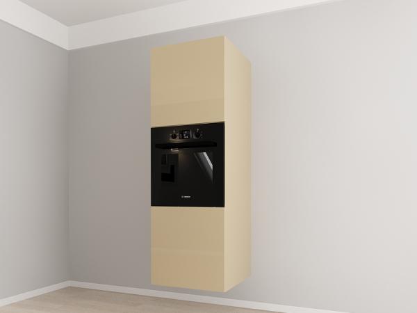 Corp vertical 187 Adancime 57 pentru cuptor incorporabil si 2 usi - Evora Cappuccino 1