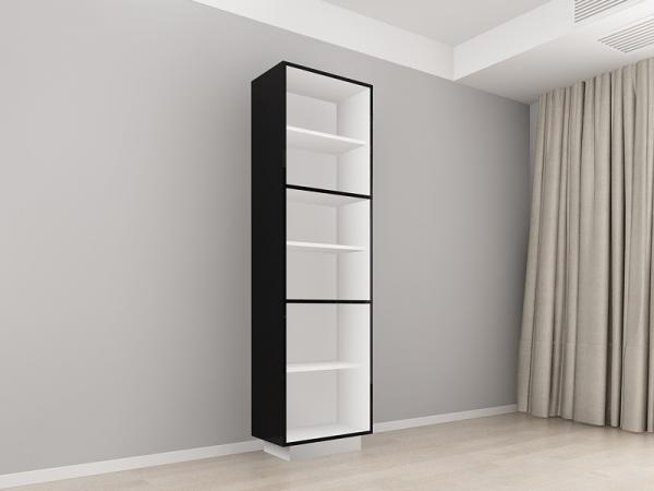 Corp Vertical 210 Adancime 37 cu 3 usi – Blanca Negru [1]