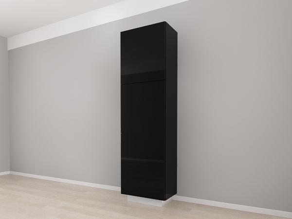 Corp Vertical 210 Adancime 37 cu 3 usi – Blanca Negru [2]